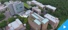Aerial Views of Otemon Gakuin University - from the eye of a drone